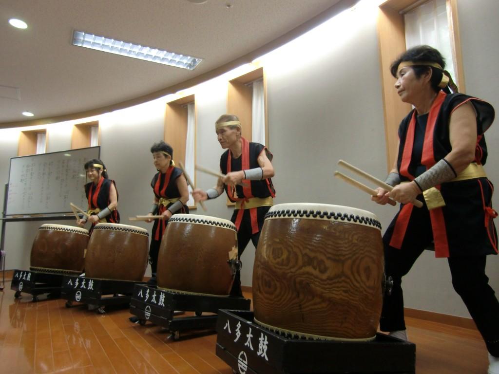 八多太鼓のみなさまによる和太鼓演奏です!